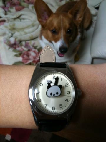 Yonda?パンダ 時計