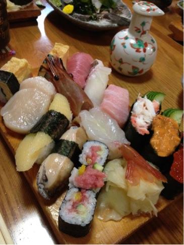 凄いお寿司