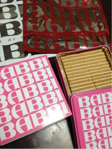 BABBIのチョコレート